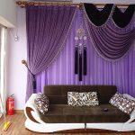 Шикарный диван рядом с панорамным окном