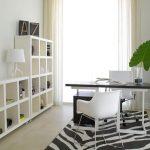 Открытый стеллаж для офисных принадлежностей