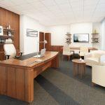 Ковролин на полу офисного помещения
