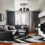 Корпусная мебель в современной гостиной