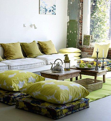 Напольные подушки для отдыха и релакса