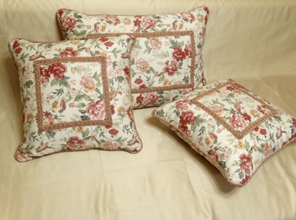 Красивые подушки прованс