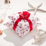 Ленты и бантики - как декоративные элементы подушки для колец