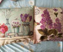 Миленькие подушечки для декора в стиле прованс