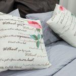 Милые романтичные подушки для декора