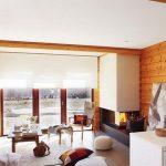 Напольные подушки в интерьере современной гостиной