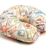 """Необычная подушка-антистресс с рисунком """"Печати"""""""