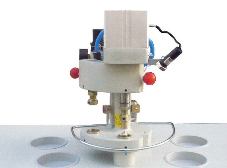 Настольный пресс для люверсов AURORA J-95 пневматического типа