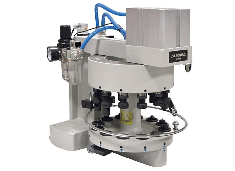 Универсальный пневматический пресс AURORA J-912-A для работы с фурнитурой