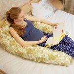 Подушка для беременных для удобного отдыха и чтения