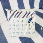 Подушка-календарь для колец