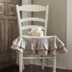 Подушка с рбшами для сидения стула