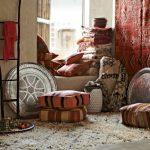 Подушки и пледы для отдыха и сидения на полу