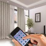 Управление электрокарнизом с помощью смартфона