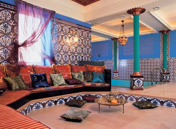 Роскошная комната для отдыха