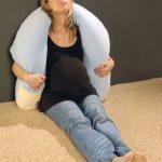 С помощью такой подушки удобно не только лежать, но и сидеть
