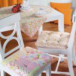 Самодельные мягкие подушки-сидушки