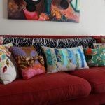 Шикарные неповторимые диванные подушки ручной работы