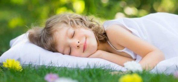 Гречишная подушка для детей