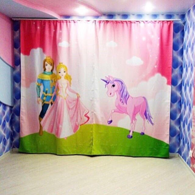 Тюль для комнаты юной принцессы