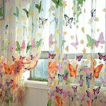 Бабочки на полотне турецкого тюля