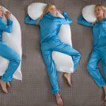 Удобное расположение тела во время сна