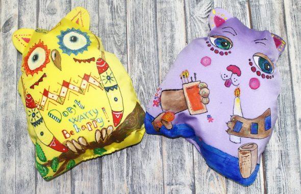 Подушка в виде игрушки