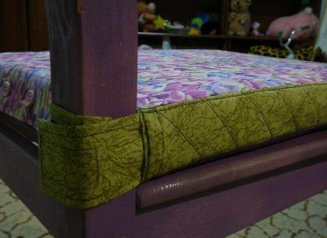 Готовая подушка-сидушка