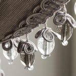 Модная бахрома с бусинами из стекла