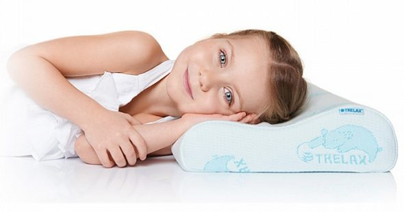 Ортопедическая подушка с 3 лет