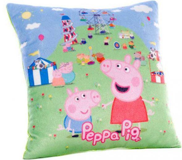 Детская подушка с героями мультфильма