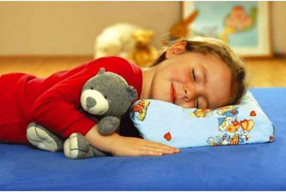 Детская подушка от 3 лет