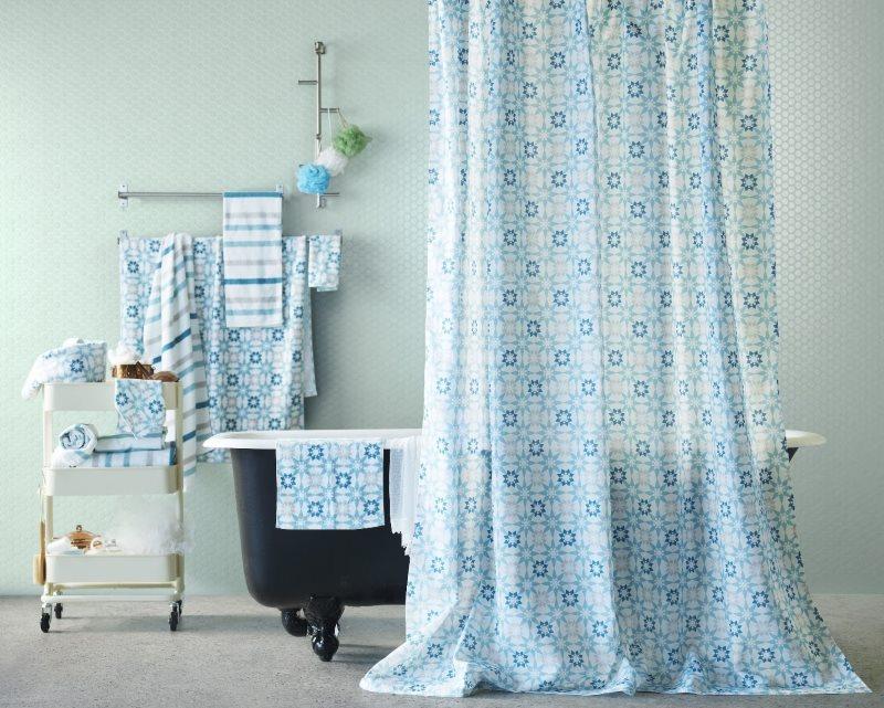 Подбор текстиля для ванной комнаты