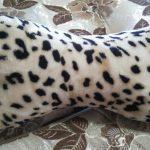 Леопардовая подушка под шею