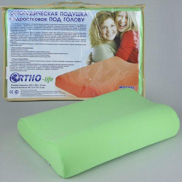 Ортопедическая подростковая подушка