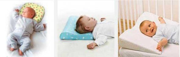 Ортопедическая подушка для сна младенца