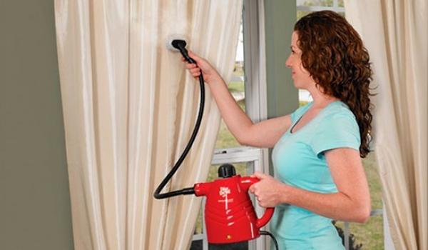 Разглаживание занавески без утюга в домашних условиях
