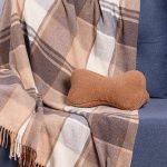 Подушка-косточка Верблюд коричневый