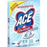 Пачка пятновыводителя ACE весом в 500 граммов