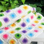 Ручная работа - винтажное одеяло крючком