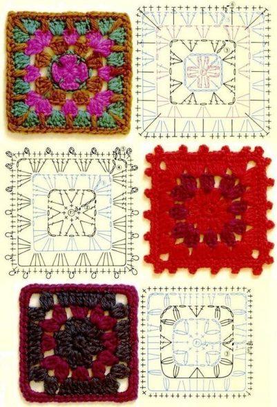 Схемы и образцы для вязания