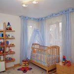 Занавески на люверсах в комнату для мальчика