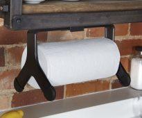 держатель для бумажных полотенец идеи фото