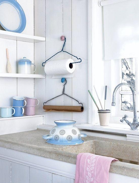 держатель для бумажных полотенец фото идеи