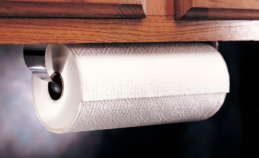держатель для бумажных полотенец идеи декора