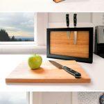 подставка для ножей своими руками декор фото