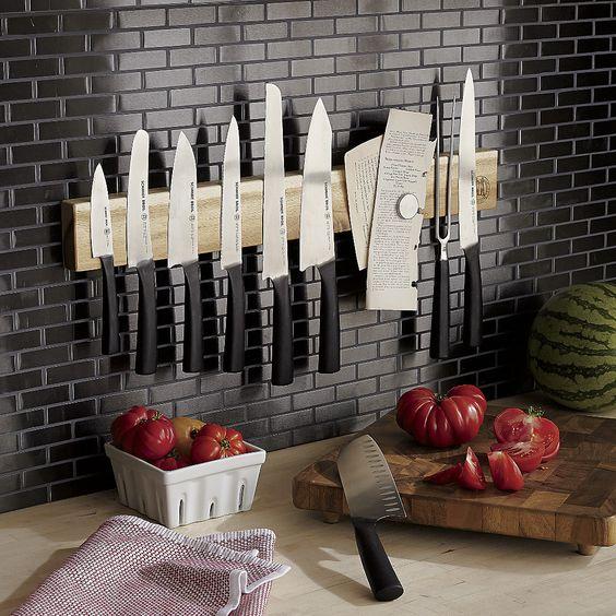 подставка для ножей настенная