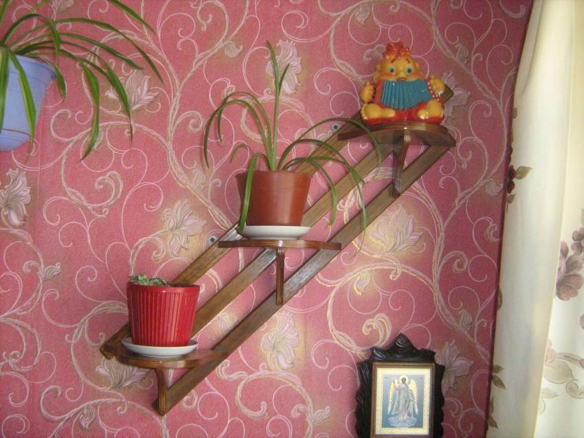 подставка для цветов дизайн декор
