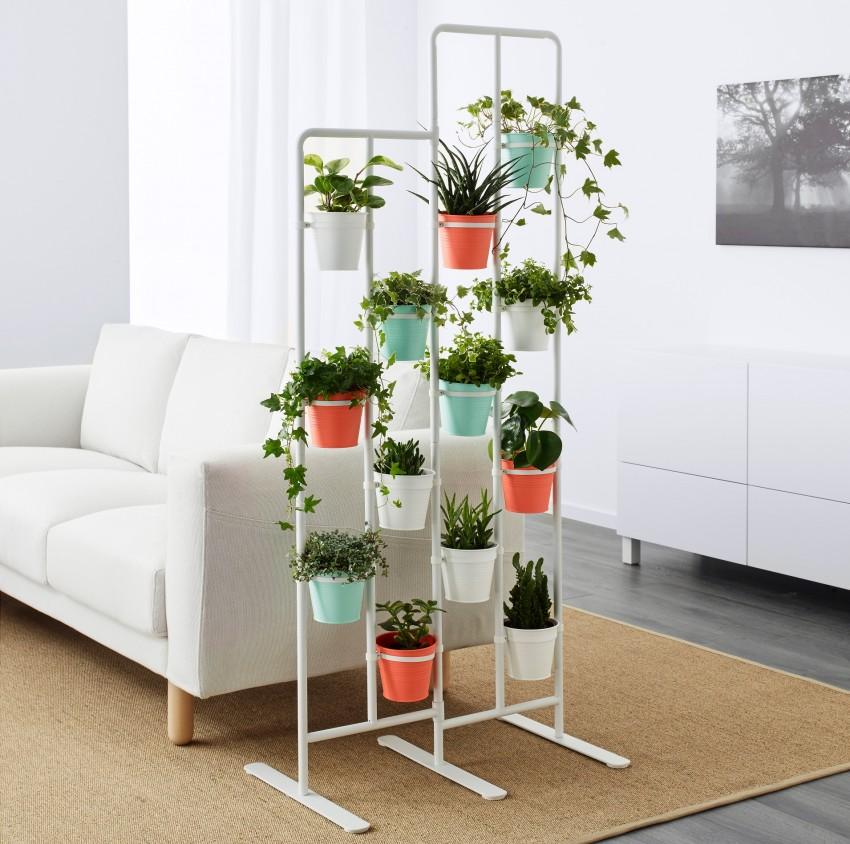 подставка для цветов фото интерьера