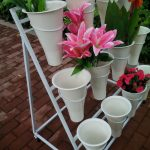 подставка для цветов своими руками варианты фото